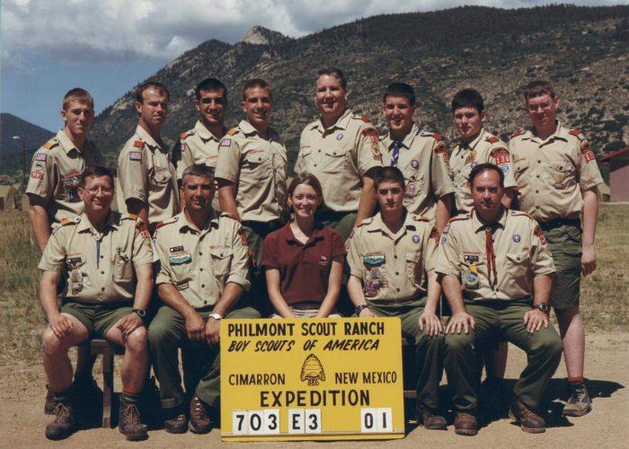 2001 Philmont Crew Photo
