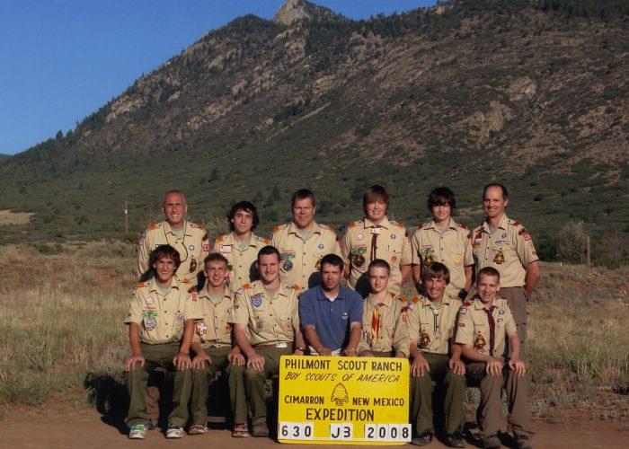 2008 Philmont Crew Photo