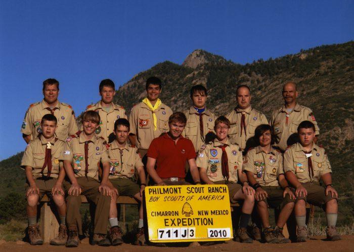2010 Philmont Crew Photo