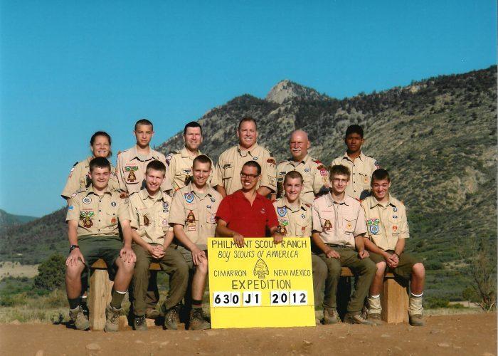 2012 Philmont Crew Photo