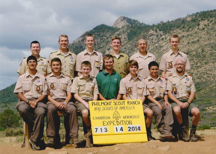 2014 Philmont Crew Photo
