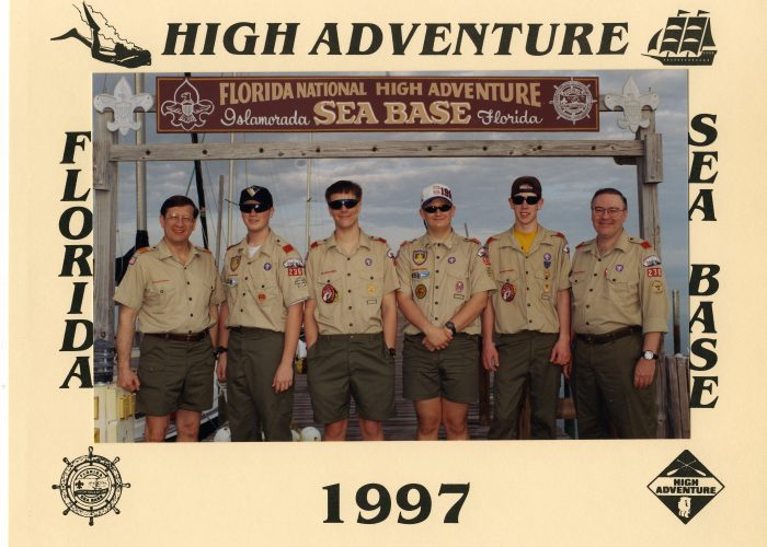 Troop 236 1997 Sea Base Crew
