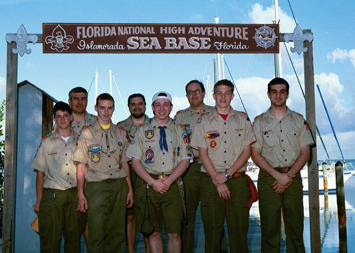 Troop 236 2000 Sea Base Crew