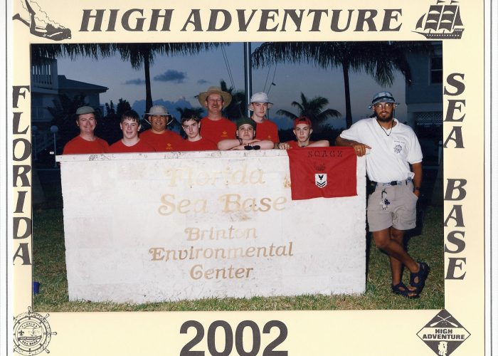 Troop 236 2002 Sea Base Crew