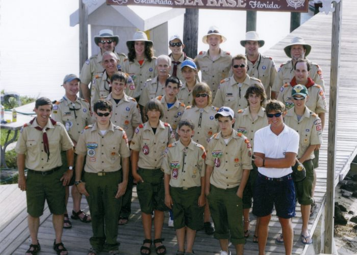 Troop 236 2005 Sea Base Crew