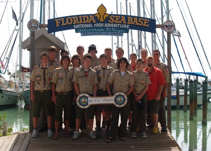 Troop 236 2009 Sea Base Crew