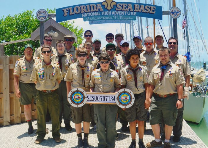 Troop 236 2013 Sea Base Crew