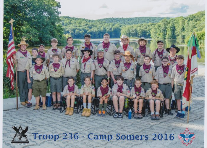 Troop 236 Summer Camp 2016