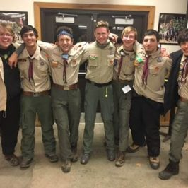 Troop 236 Screaming Eagles at Klondike 2017