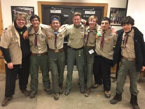Scoutmaster Jim's KLONDIKE! Blog 2017