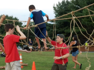 Troop 236 Monkey Bridge