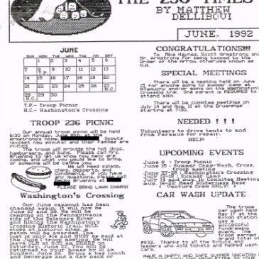 The 236 Times Jun 1992