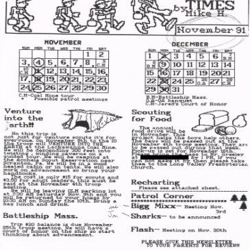 The 236 Times Nov 1991