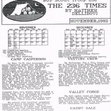 The 236 Times Nov 1992