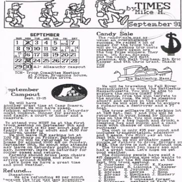 The 236 Times Sept 1991