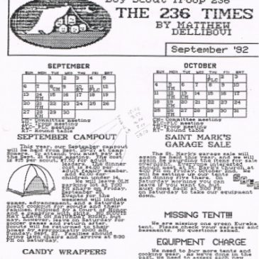 The 236 Times Sept 1992