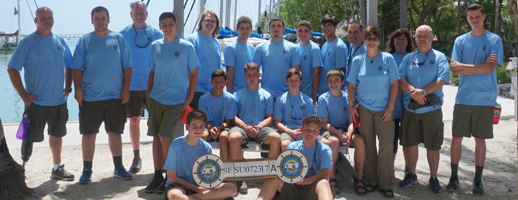 Troop 236 Sea Base 2017 Crew Photo
