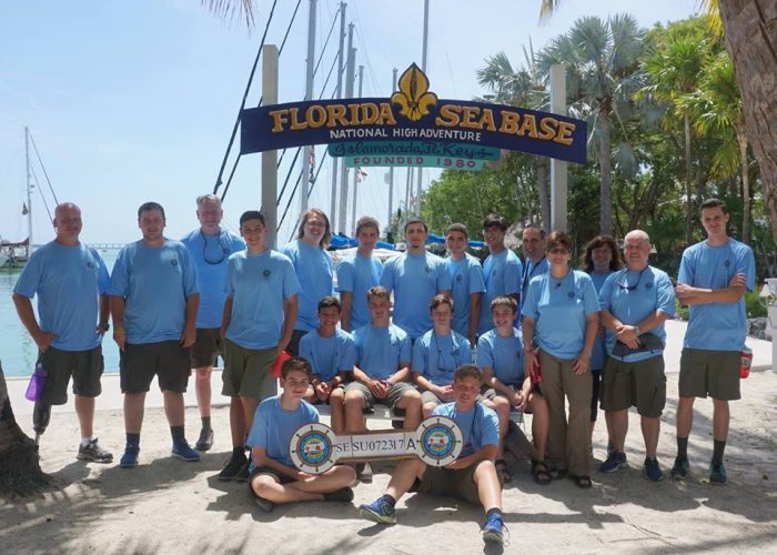 Troop 236's 2017 Sea Base Crew
